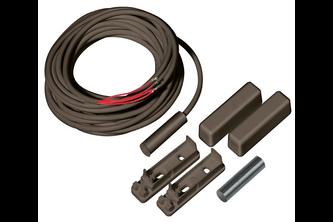 Abus Magneetcontact, 4m, 4-adrig, buitenveldbescherming (bruin)