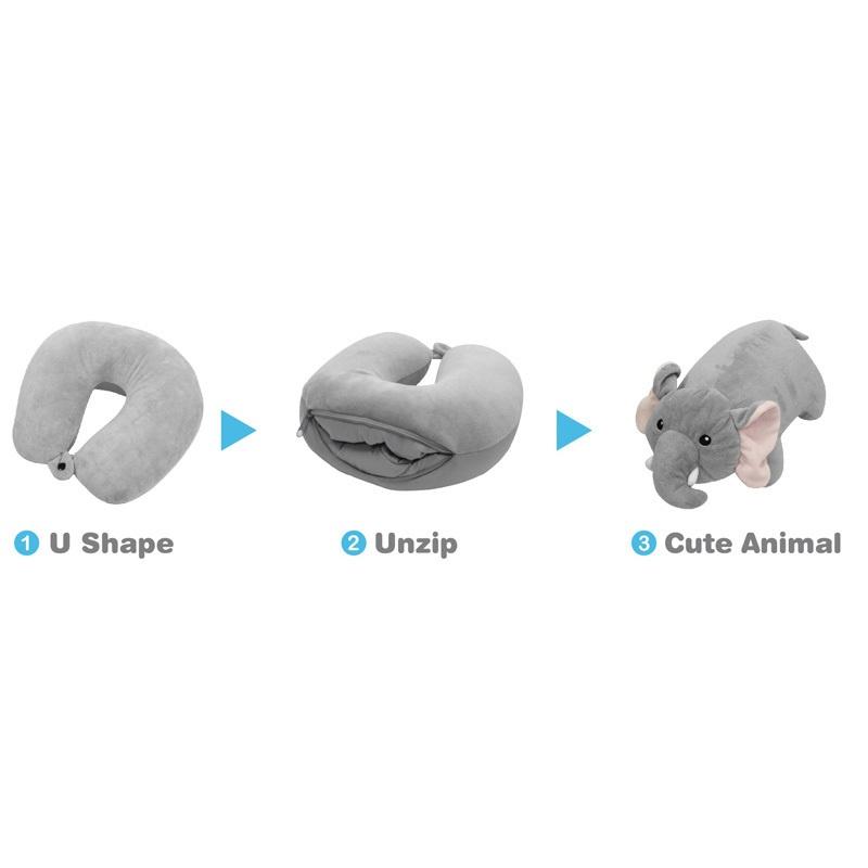 Afbeelding van Autostyle as comfortline omvormbaar 2 in 1 multi nekkussen