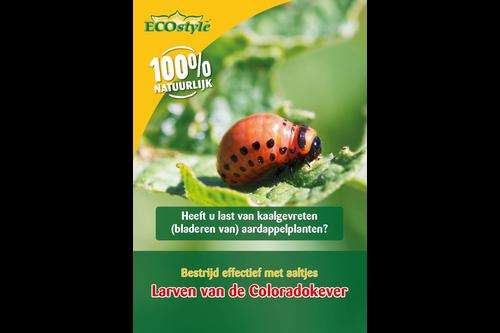 Ecostyle aaltjes h tegen larven coloradokever 50 miljoen/100 m2