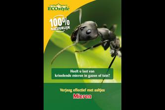 ECOSTYLE Aaltjes F tegen mieren 15 miljoen/30 m2/15 nest