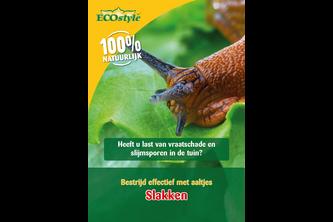 ECOSTYLE Aaltjes tegen slakken 24 miljoen/80 m2