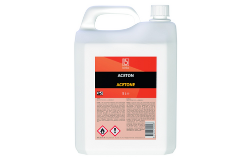 Aceton 5 l, can