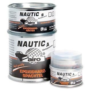 Afbeelding van Airo nautic epoxy plamuur 4,5 kg, wit, blik