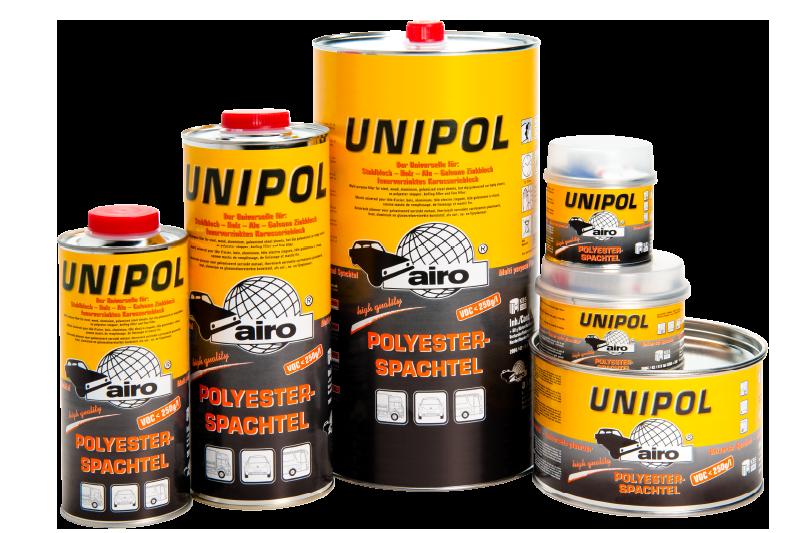 Afbeelding van Airo unipol aansluiting centraal 10 kg, beige, blik