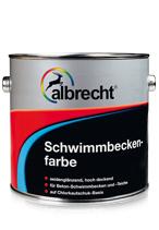 Afbeelding van Albrecht zwembadenverf 10 l, capriblauw