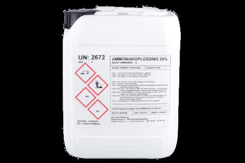 Ammoniak 25% 5 ltr, jerrycan