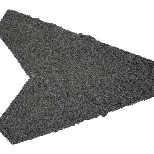 Afbeelding van Aquaplan aqua pan metaal nok afsluitstuk , antraciet