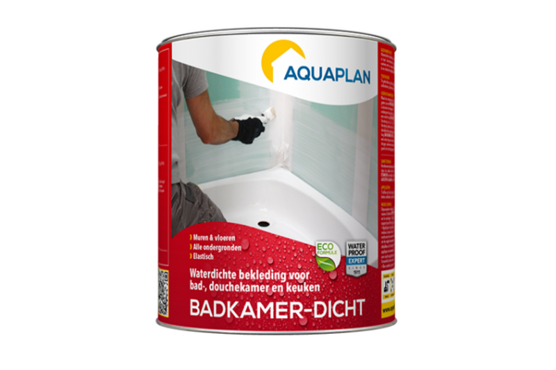 AquaPlan Badkamer-Dicht? Bestel je Binnen- en buitenmuren bij Werken ...