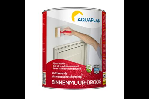 Aquaplan binnenmuur-droog 0.75 l