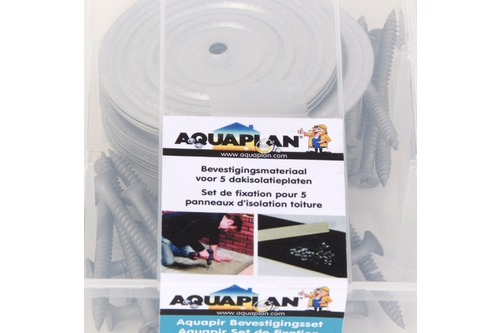 Aquaplan duo-fix bevestigingsset 25 st 4,8 mm x 8 cm