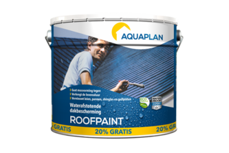 AquaPlan Roofpaint Antraciet 10 L + 20% gratis