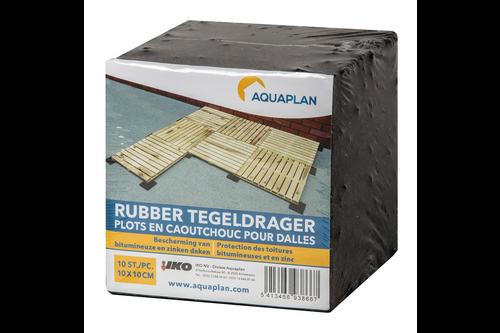 Aquaplan rubber tegeldrager 10 x (10 cm x 10 cm)