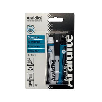 Afbeelding van Araldite standard 2 x 15 ml, dubbelspuit