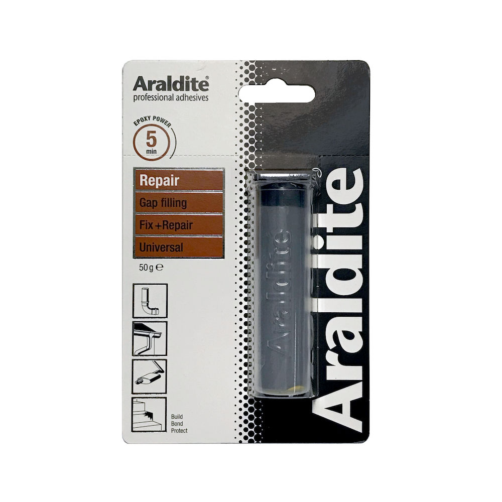 Afbeelding van Araldite repair 50 gr, dubbelspuit
