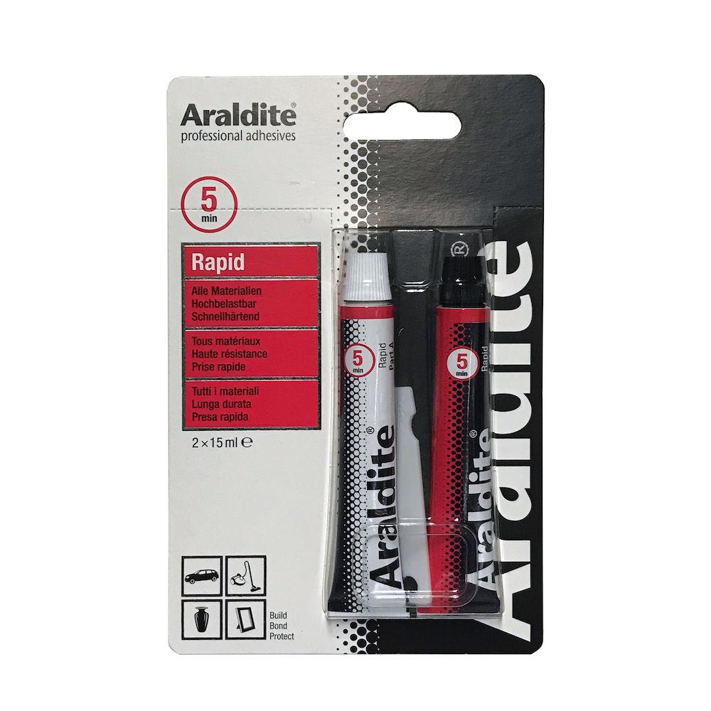 Afbeelding van Araldite rapid 2 x 15 ml, dubbelspuit