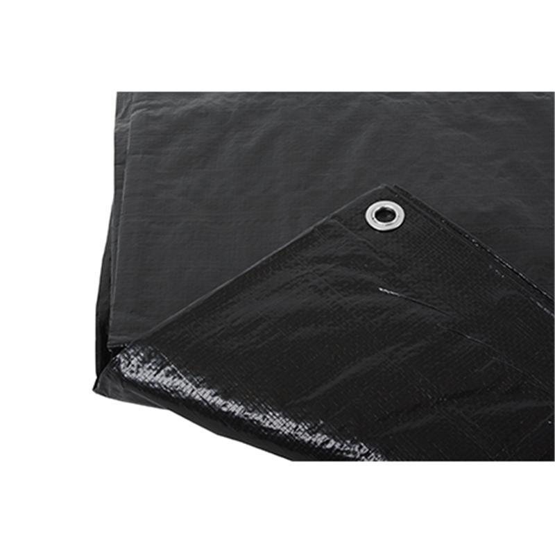 Afbeelding van Argos hekwerkdekkleed brandvertragend zwart