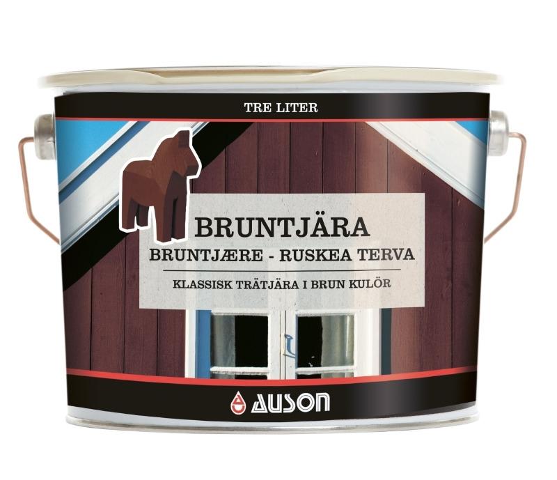 Afbeelding van Auson pine tar 9 l, bruin