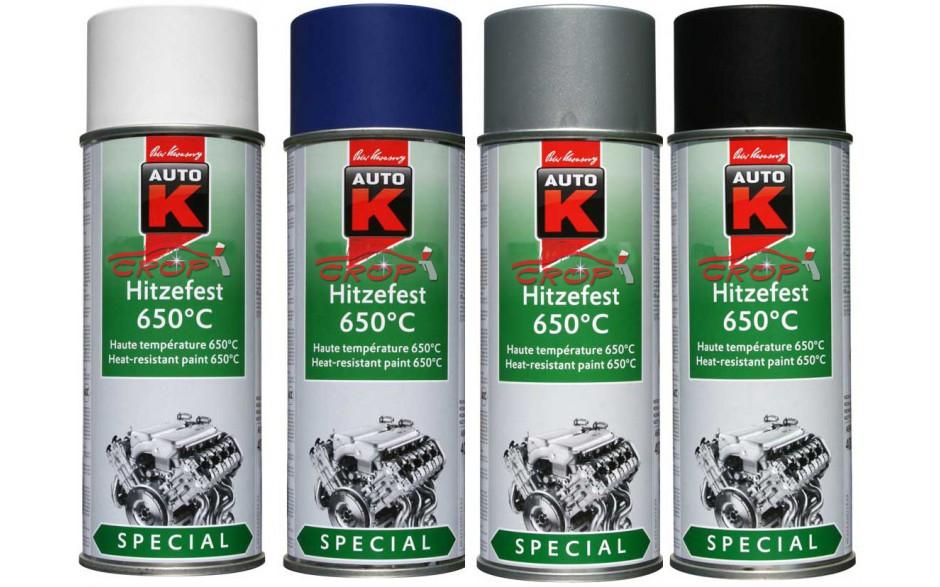 Afbeelding van Auto k hittebestendige spray 650 graden 400 ml, blauw, spuitbus