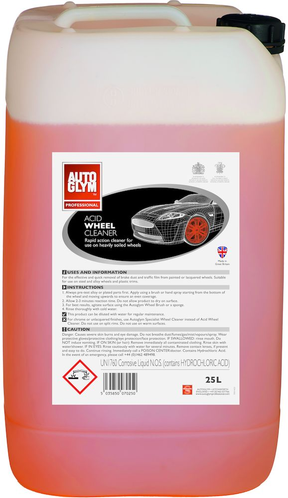 Afbeelding van Autoglym acid wheel cleaner 25 l, can
