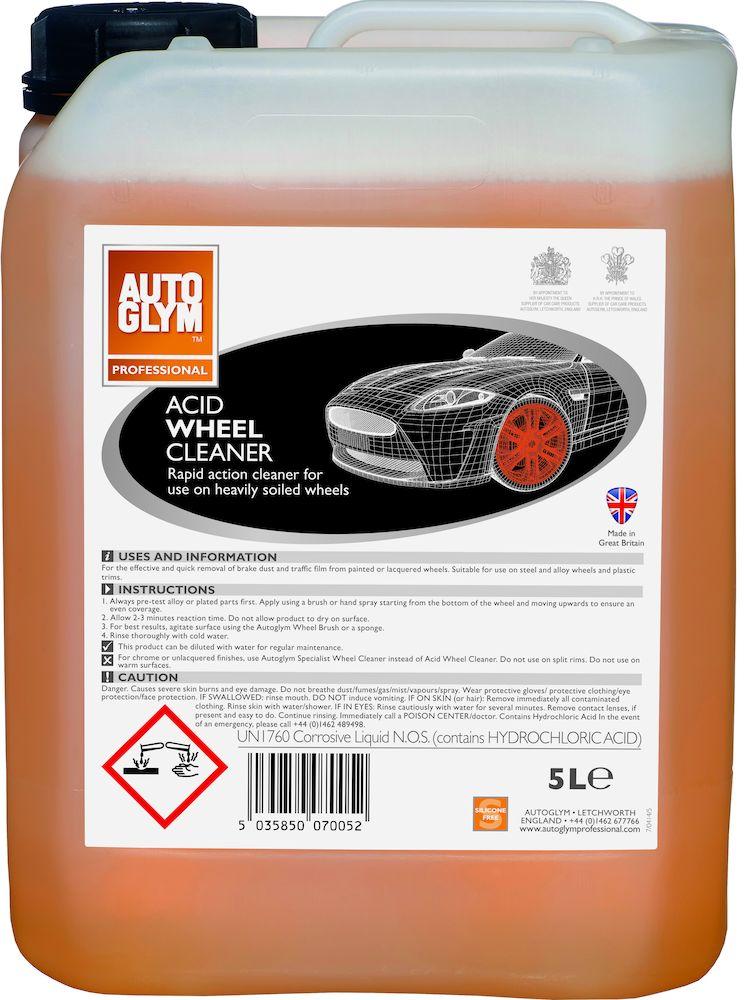 Afbeelding van Autoglym acid wheel cleaner 5 l, can