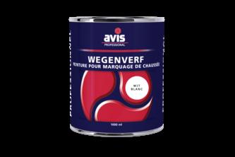 Avis Wegenverf 1 L, WIT