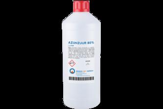 Azijnzuur 80% 1 L, FLACON