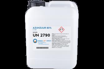 Azijnzuur 80% 5L, JERRYCAN