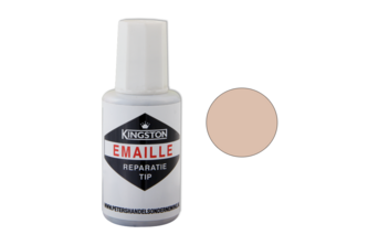 Kingston Emaille Reparatie Tip 20 ML, BAHAMABEIGE, -, Flacon + kwast