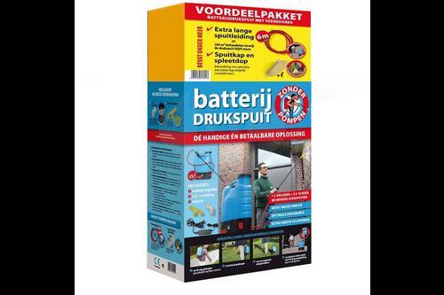 Bsi voordeelpakket batterij drukspuit 15 liter