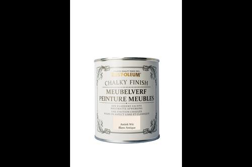 Rust-oleum chalky finish meubelverf 750 ml, antiekwit, blik