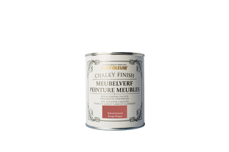 Rust-Oleum Chalky Finish Meubelverf 750 ML, Baksteenrood, BLIK