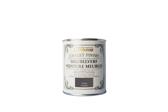 Rust-Oleum Chalky Finish Meubelverf 750 ML, Grafiet, BLIK