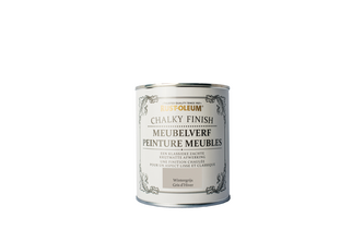 Rust-Oleum Chalky Finish Meubelverf 750 ML, Wintergrijs, BLIK