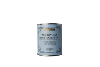 Rust-Oleum Meubelvernis Mat 750 ML, Transparant, BLIK