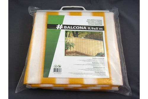 Hwtc balcona balkondoek 0,9x5 m,  , antraciet
