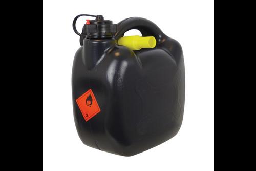 Carpoint benzinekan 5ltr 420gram zwart