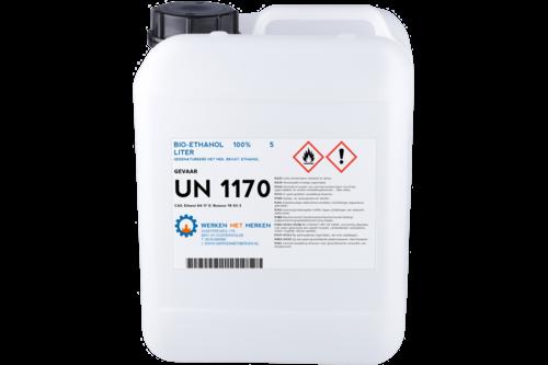 Biologische ethanol 100% 5 l