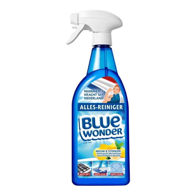 Afbeelding van Blue wonder alles reiniger spray 750 ml