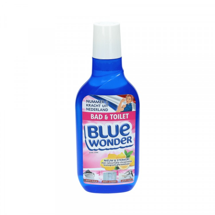 Afbeelding van Blue wonder bad en toiletreiniger 750 ml