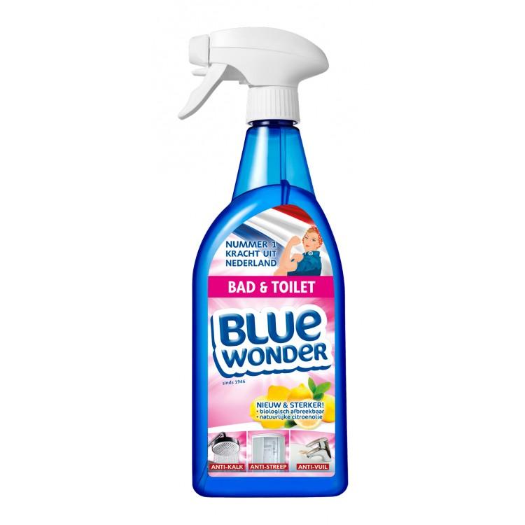 Afbeelding van Blue wonder bad en toiletspray 750 ml
