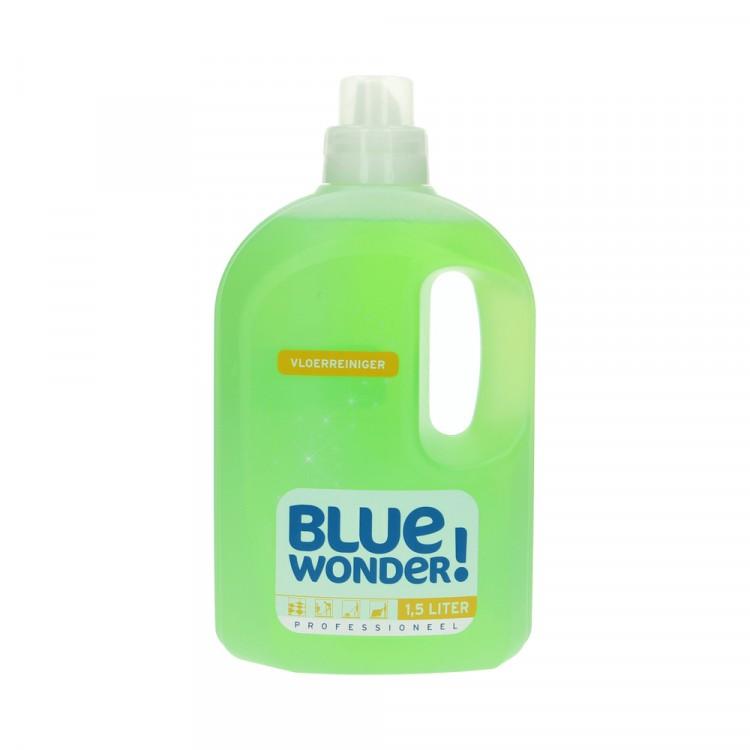 Afbeelding van Blue wonder vloerreiniger professioneel 1500 ml