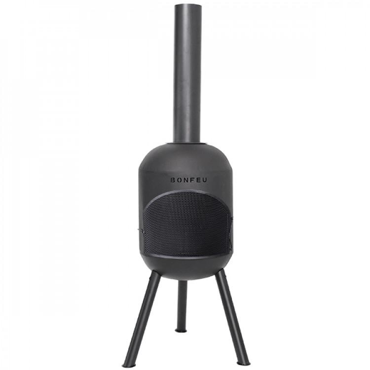 Afbeelding van Bonfeu bonsolo barbecue tuinhaard zwart