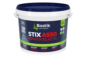 Bostik Stix A550 Power Elastic Dispersielijm voor vloerbedekking 13 KG