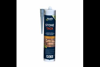 Bostik Stone Tack 290 ML, Zwart, KOKER