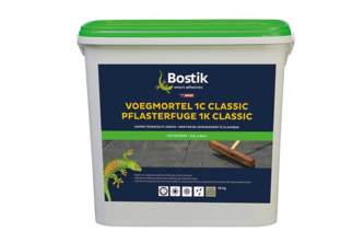 Bostik Voegmortel 1C Classic 15 KG, Basalt