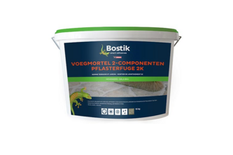 Bostik Voegmortel 2-Componenten 25 KG, zand, ZAK