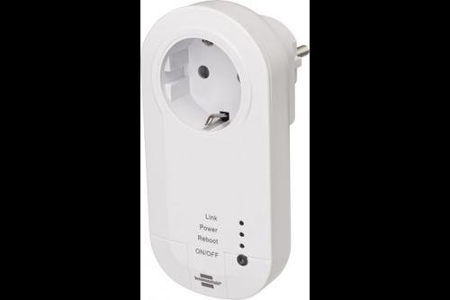 Brennenstuhl wifi stopcontact 433 mhz wit nederland