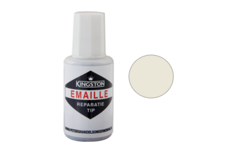 Kingston Emaille Reparatie Tip 20 ML, CAMEE, Flacon + kwast