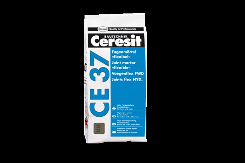 Afbeelding van Ceresit ce 37 voegenflex uitverkoopartikel 5 kg, jurabeige