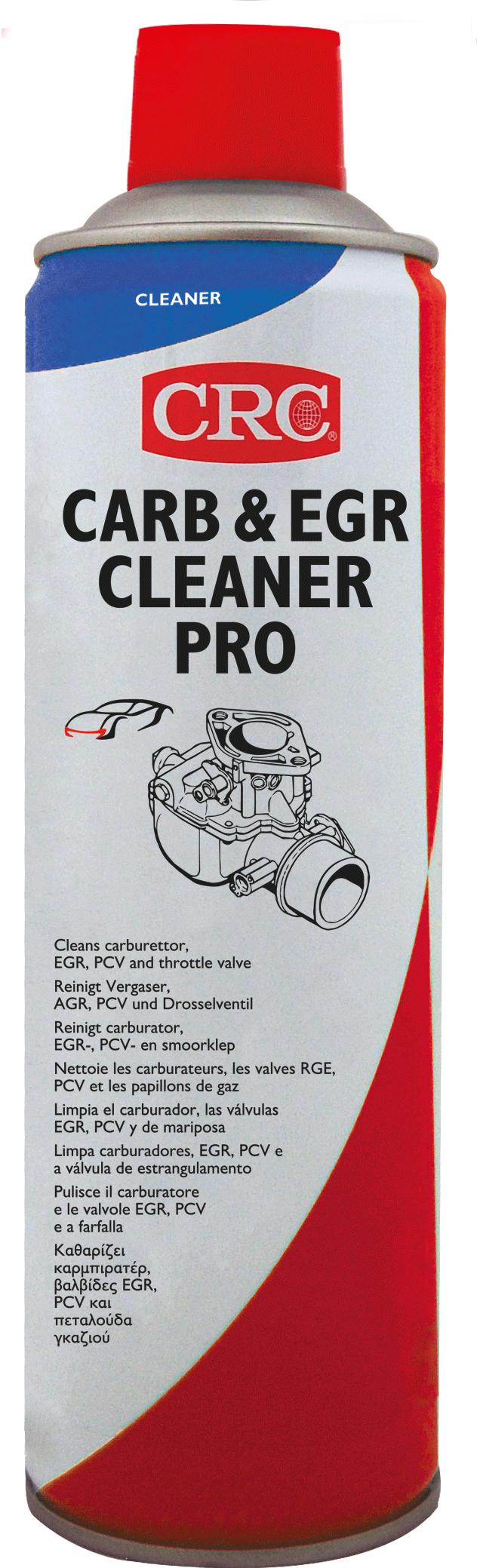 Afbeelding van crc industry carburettor egr cleaner pro 500 ml, spuitbus